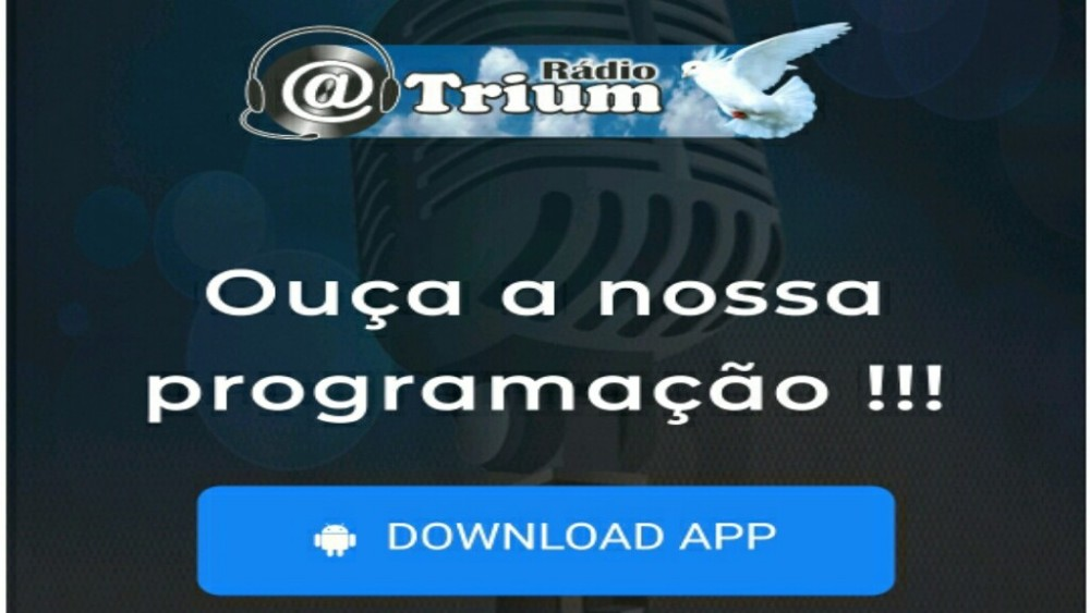 Download do app da Rádio Atrium